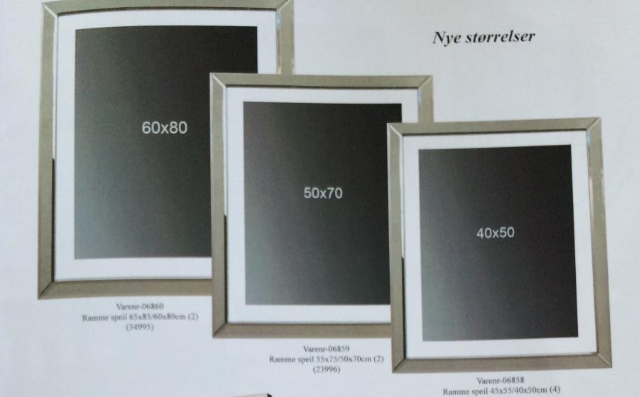 Modernistisk Kjøpe fotorammer rammer bilderammer - Kjell Nordhagen AS OR-32