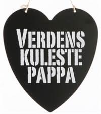 a12242d2 Metallskilt Verdens kuleste pappa - Kjell Nordhagen AS